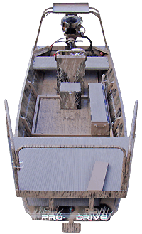 outboard boat bowfish deck