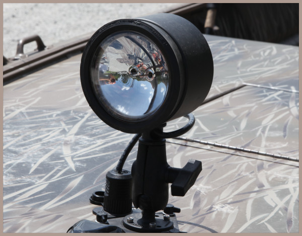 outboard boat spot light kit