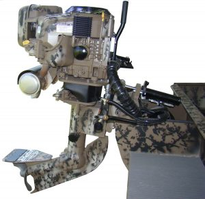 Nat Gear Camo shallow water outboard