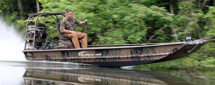 Pro-Drive Outboards - Shallow water and shallow draft