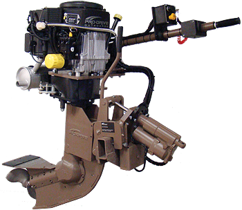 Pro-Drive - Shallow water and shallow draft outboard motors