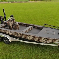 Pro-Drive Dual Remote Console Steering boat