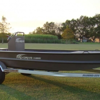 Pro-Drive remote steering outboard boat
