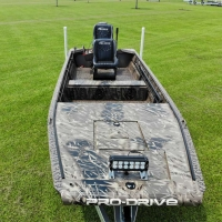 Pro-Drive stick steer outboard boat